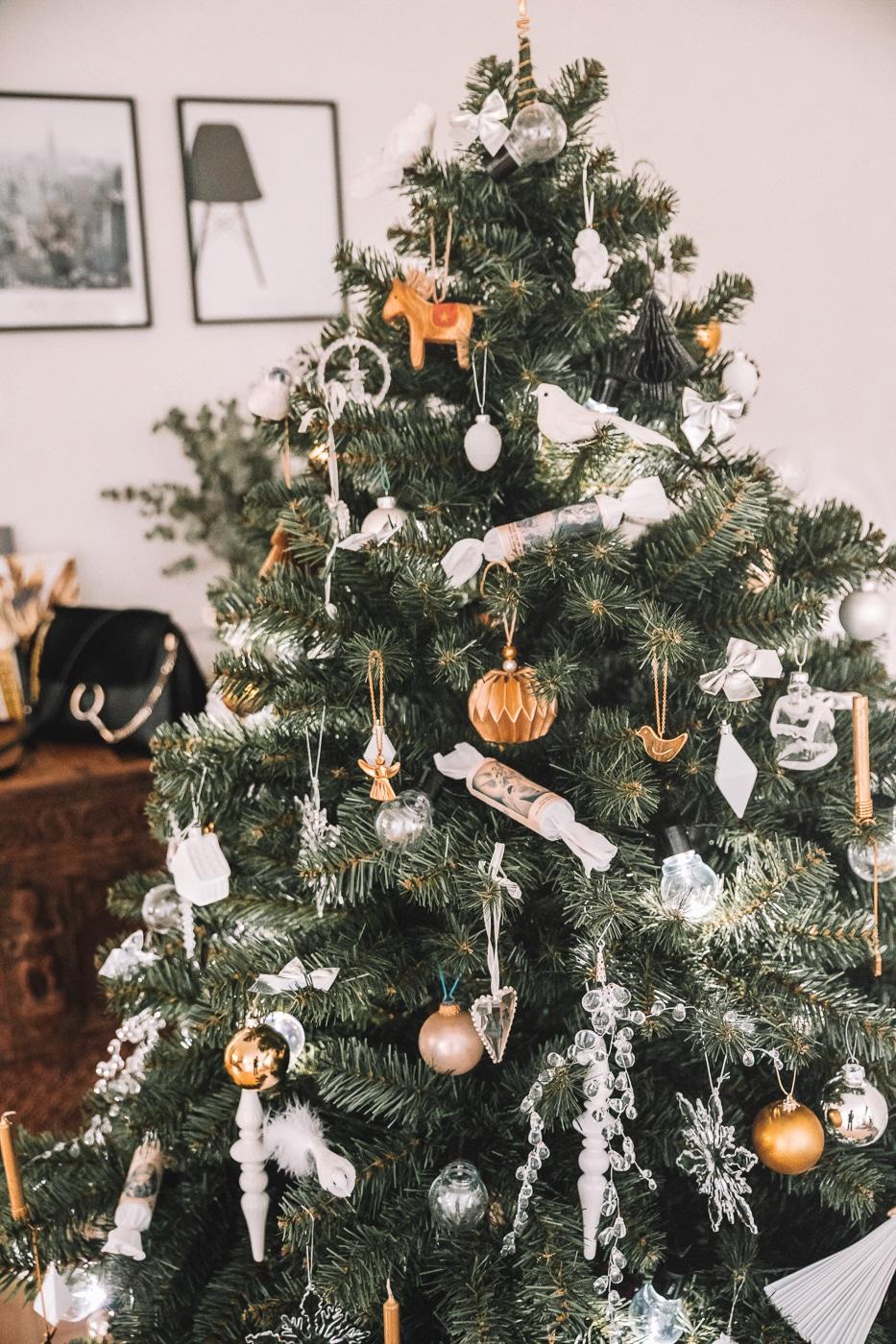 julepynt, inspiration til adventskrans, jul, juletræ