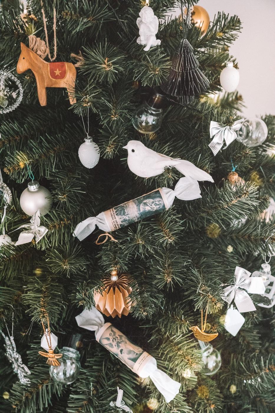 juletræ, julepynt, jul, inspiration til julekrans