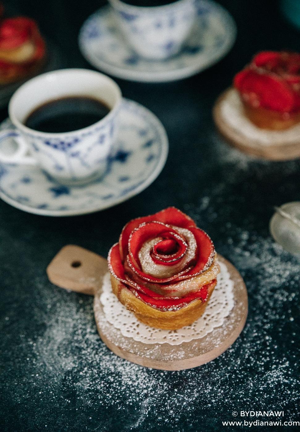 nemme kager, croissant opskrift, kaffe, danerolles