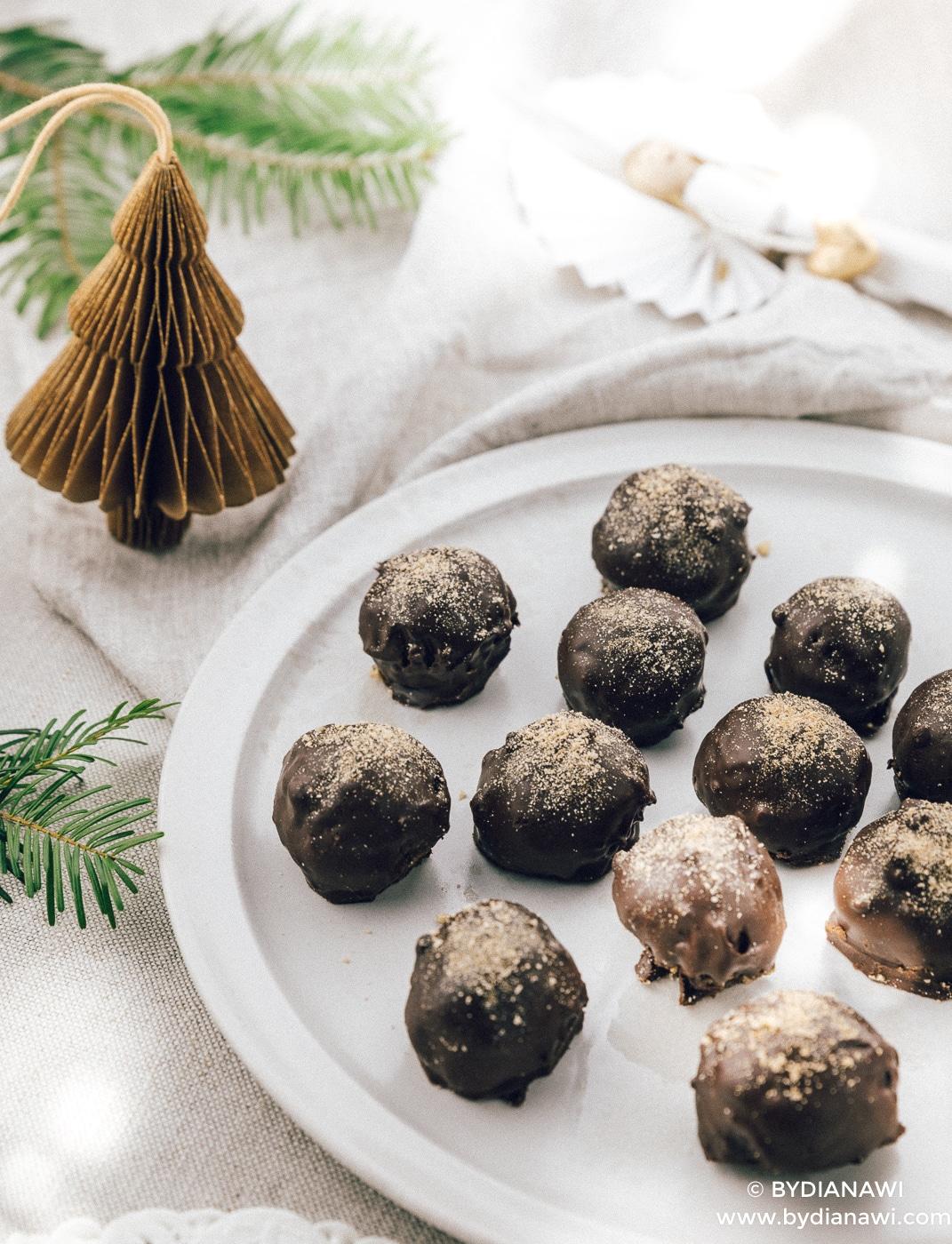 snickers bites, sunde snickers kugler, sund konfekt, julekonfekt
