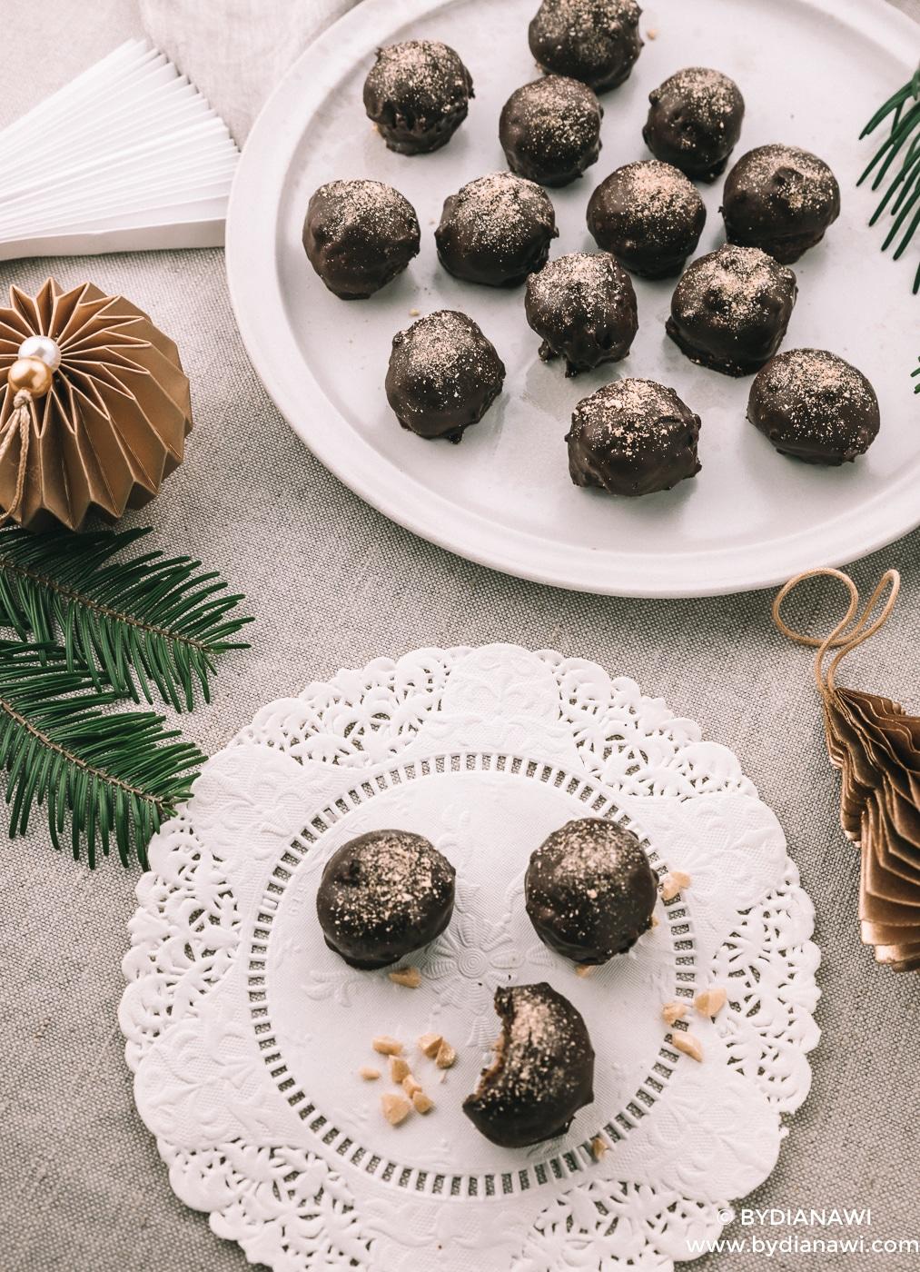 snickers kugler, sund konfekt, julekonfekt, snickers bites