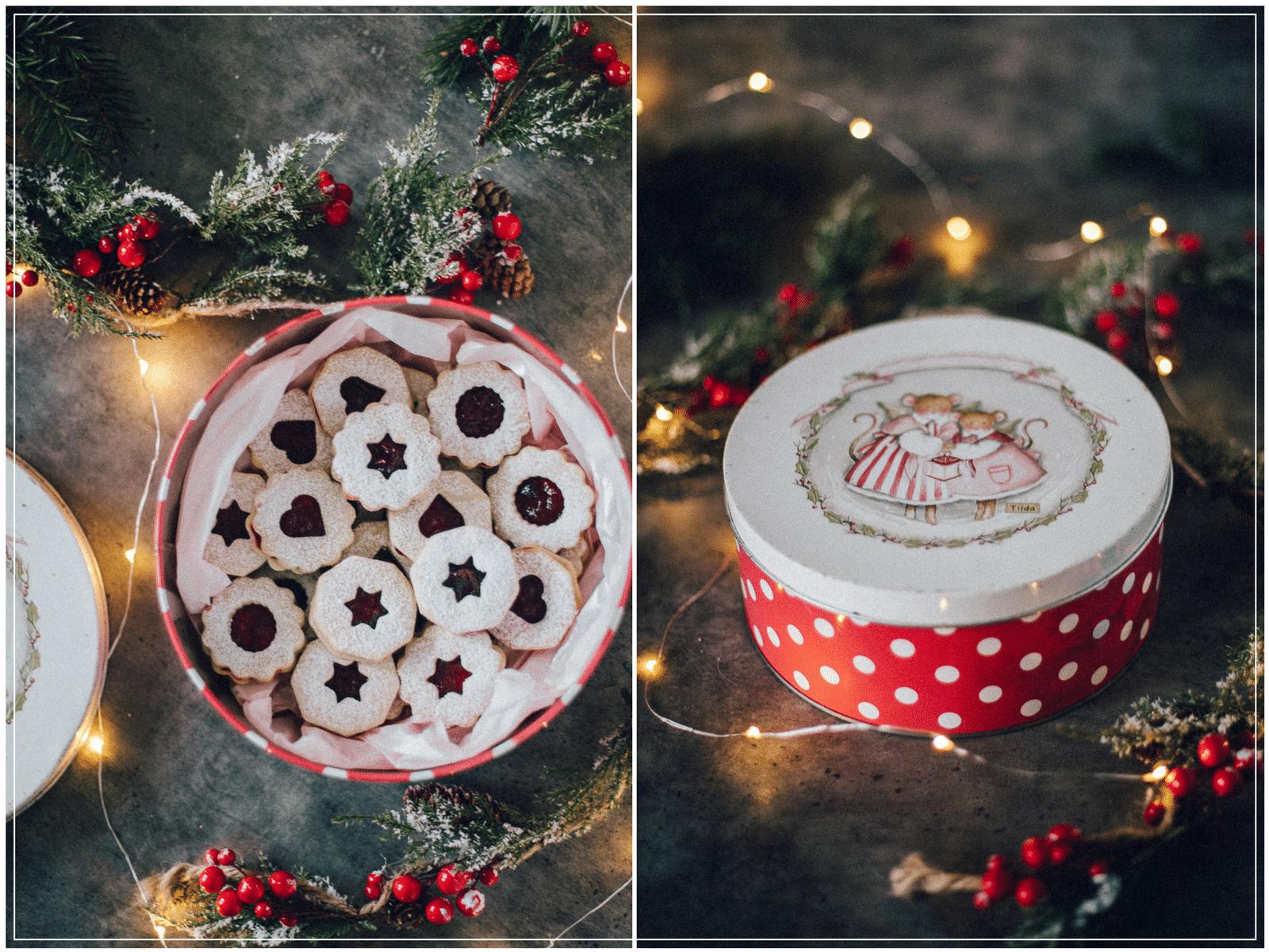 julesmåkager, nem småkagedej, hjemmelavet tranebær marmelade
