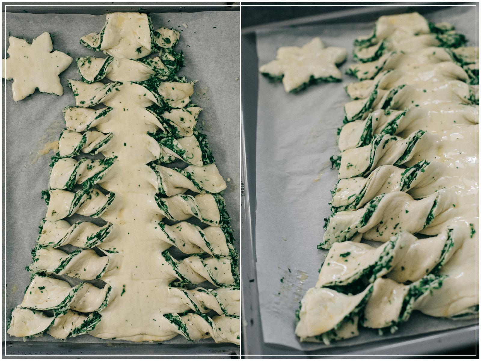 nem spinattærte, juletærte, spinat, jul