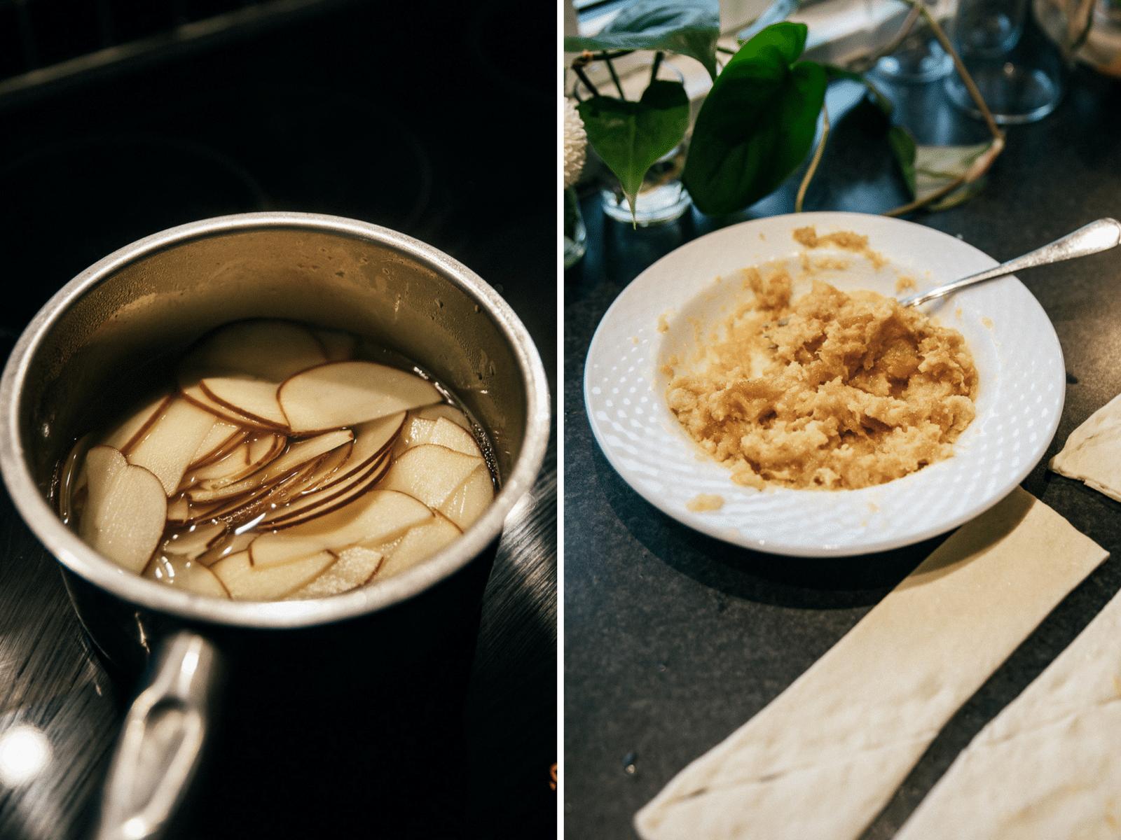 danerolles, kaffe, nemme kager, nem croissant opskrift