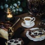 Brioche brød med leopard print