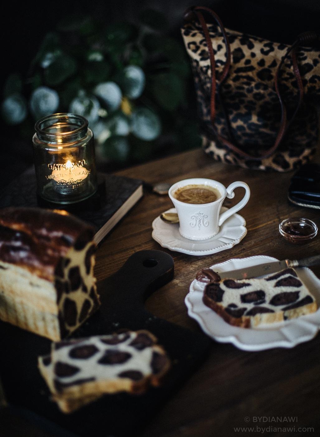 leopardbrød, brioche brød, franskbrød, leopard bread