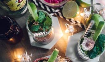 Rabarber mojito – den bedste fredag aften cocktail