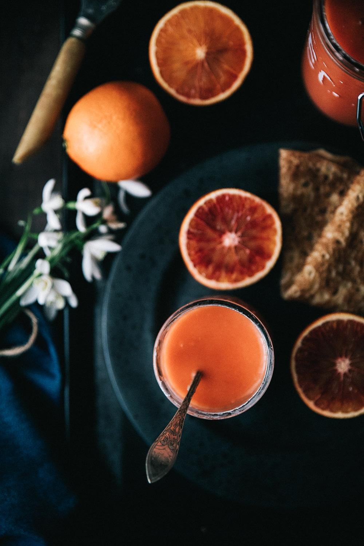 blodappelsiner, appelsincurd opskrift, curd hjemmelavet