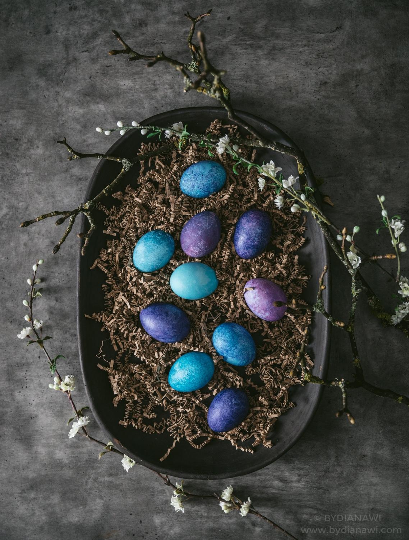 naturfarver til æg, påskeæg, påskeferien, påskehygge
